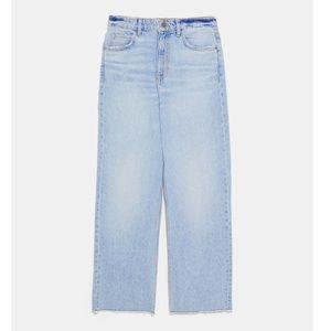 Zara Jeans - nwt ZARA z1975 high rise straight cropped jeans